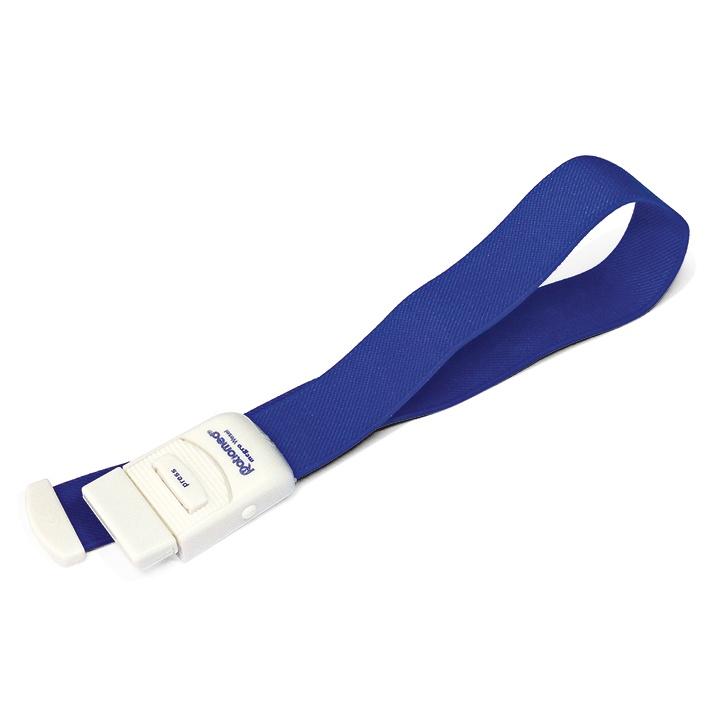 Venenstauer ratiomed, Einhandbetrieb, blau, latexfrei
