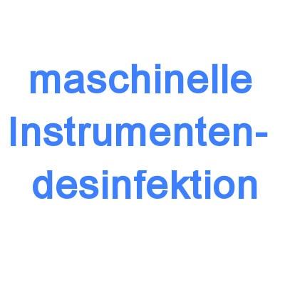 Maschinelle Instrumentendesinfektion