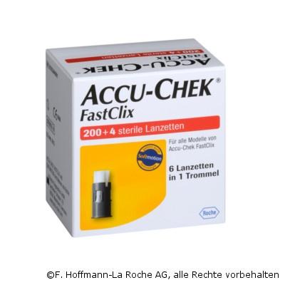 Accu-Chek® FastClix Lanzetten, 34 Trommeln á 6 stk.
