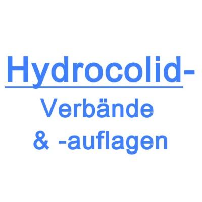 Hydrocolidverbände/-auflagen