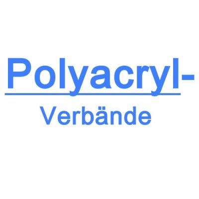Polyacrylatverbände
