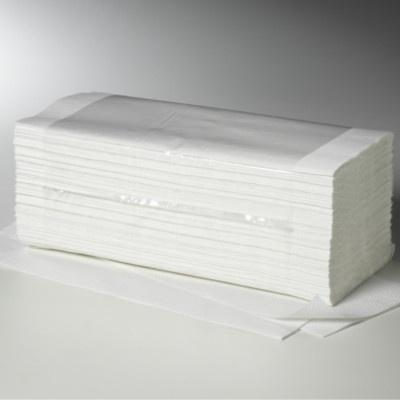 Falthandtücher, 1 lagig, 25 x 23 cm, V-Falz (20 x 250 Stk)
