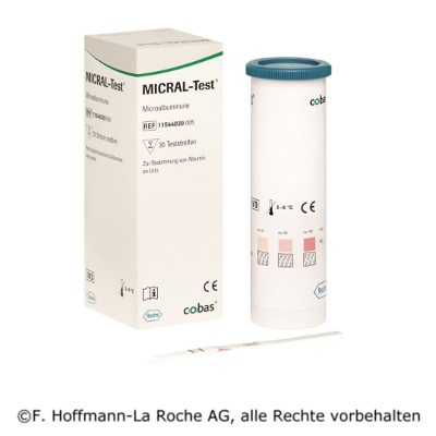 Micraltest II, Albumin, 30 Tests
