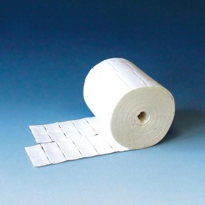 Zellstofftupfer Ratiomed 4 x 5 cm, 2 Roll. a´ 500 Stk.