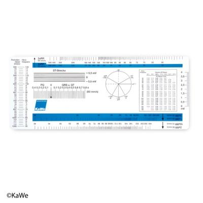 EKG-Lineal, passend f. EKG-Geräte versch. Hersteller