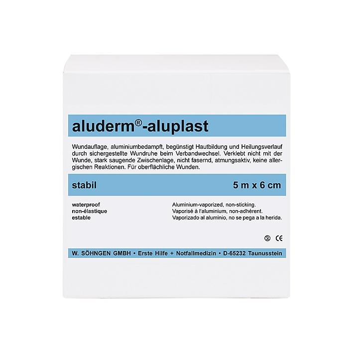 aluderm®-aluplast stabil 6 cm x 10 cm, 50 Stk./Pack.